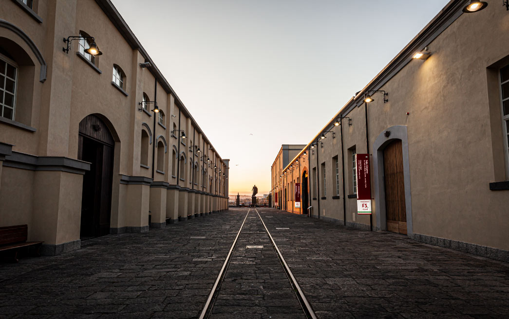 …In tre round | Museo Ferroviario di Pietrarsa | Napoli-Portici